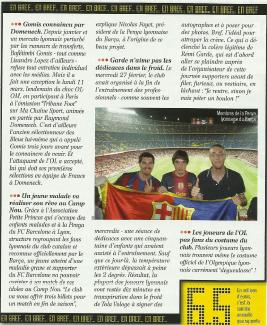 Un jeune malade va réaliser son rêve au Camp Nou (Planete Lyon)