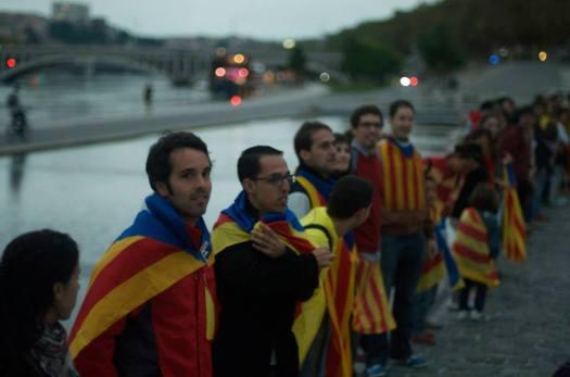 Via Catalana a Lyon