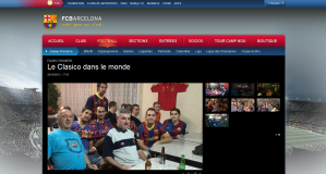 La penya sur le site officiel
