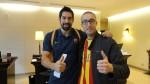Avec Nikola Karabatic
