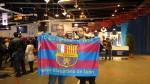 Nicolas et Karim representaient la Penya FC Blaugrana