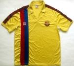 Maillot FC Barcelone 1982/1990 extérieur