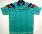 Maillot FC Barcelone 1992-1995 Exterieur