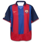 Maillot FC Barcelone 2003/2004 Domicile
