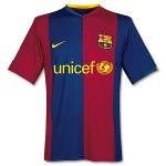 Maillot FC Barcelone 2006/2007 Domicile UNICEF