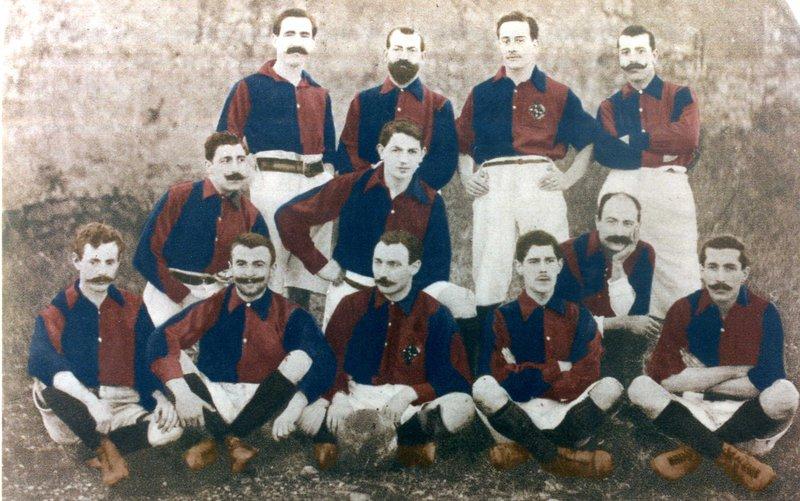 Equipe FC Barcelona 1900
