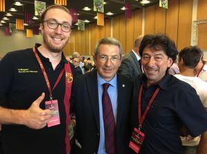 Pau Vilanova, membre de la Junta du Barça en charge du social