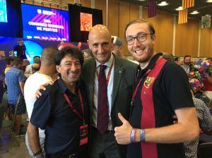 Jordi Moix, membre de la Junta du Barça, en charge de l'Espai Barça
