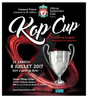 Affiche Kop Cup 2017