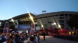 Diner au pied du Camp Nou