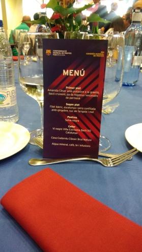 Repas de Gala au Congres Mondial des Penyes